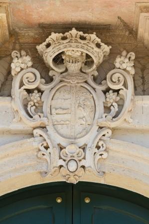 Scarpa palace  Martano  Puglia  Italy