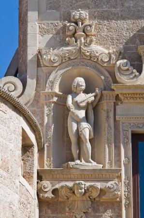 De Monti Castle of Corigliano di Otranto  Puglia  Italy  Stock Photo - 14146518