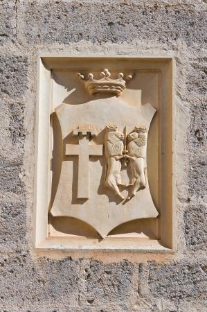 De Monti Castle of Corigliano di Otranto  Puglia  Italy