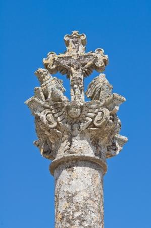 Column of Osanna  Sternatia  Puglia  Italy Stock Photo - 14112525