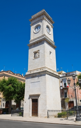 Clocktower. Barletta. Puglia. Italy. photo