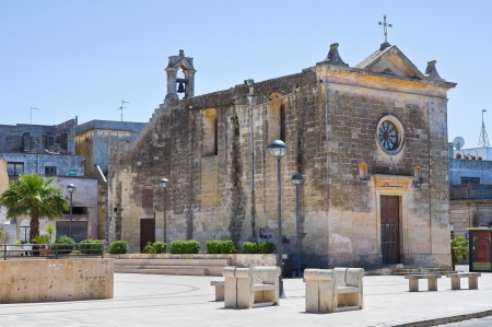 ss: Church of SS  Medici  Martano  Puglia  Italy