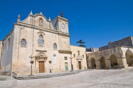 Mother Church of St. Giorgio. Melpignano. Puglia. Italy. photo