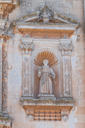 Church of Our Lady of the Grace. Soleto. Puglia. Italy. photo