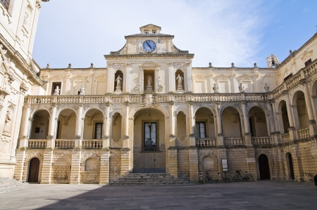 episcopal: Episcopal palace. Lecce. Puglia. Italy.