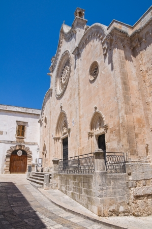 Cathedral of Ostuni. Puglia. Italy. photo