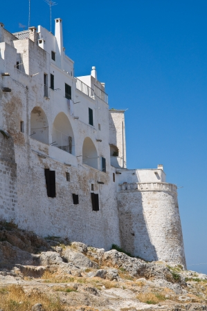 Fortified walls. Ostuni. Puglia. Italy. Stock Photo - 14267564