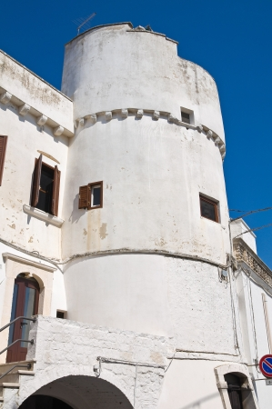 Capece tower  Cisternino  Puglia  Italy  photo