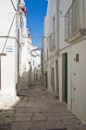 Alleyway. Cisternino. Puglia. Italy. photo