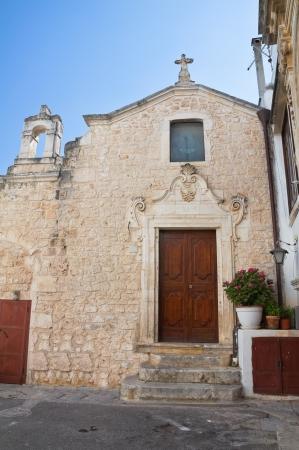 carmine: Church of Madonna del Carmine. Ostuni. Puglia. Italy. Stock Photo