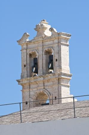 carmine: Church of Carmine. Ostuni. Puglia. Italy. Stock Photo