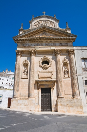 Church of Carmine. Ostuni. Puglia. Italy. photo