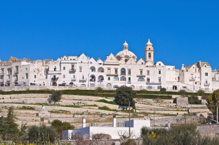 Panoramic view of Locorotondo. Puglia. Italy. Stock Photo - 14362664