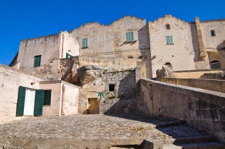 matera: Alleyway  Matera  Basilicata  Italy