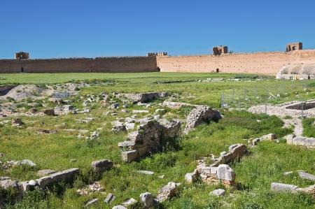 Castle of Lucera. Puglia. Italy. Stock Photo - 14409010