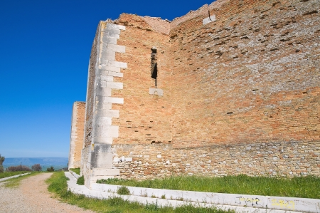 Castle of Lucera  Puglia  Italy  photo