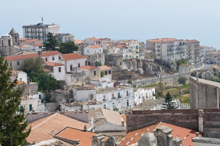 monte santangelo: Panoramic view of Monte Santangelo  Puglia  Italy