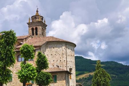 francesco: Monastery of St. Francesco. Bobbio. Emilia-Romagna. Italy. Stock Photo