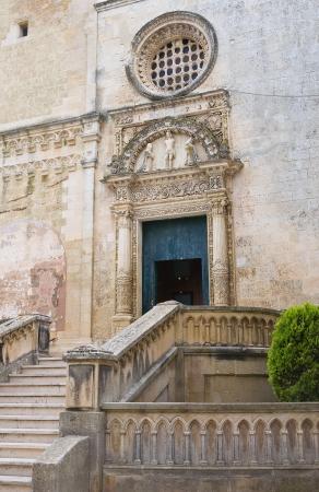 St  Nicola Mother Church  Corigliano di Otranto  Puglia  Italy  Stock Photo - 14437623