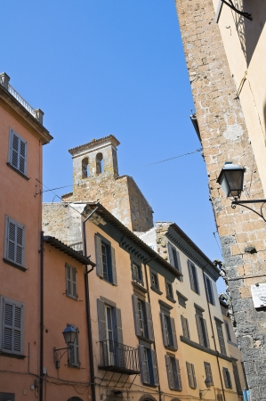 Alleyway. Orvieto. Umbria. Italy. photo