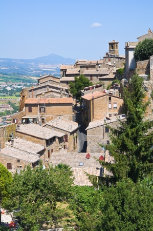Panoramic view of Orvieto. Umbria. Italy. photo