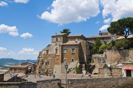orvieto: Vista panor�mica de Orvieto. Umbr�a. Italia.