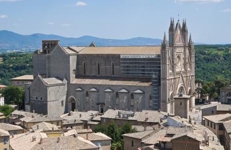 Panoramic view of Orvieto  Umbria  Italy  photo