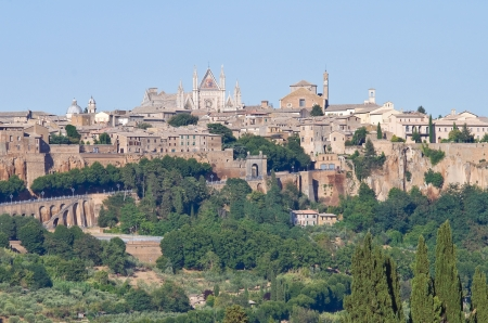 Panoramic view of Orvieto  Umbria  Italy Stock Photo - 14676568