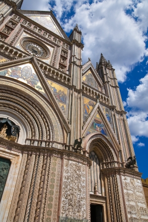 Cathedral of Orvieto. Umbria. Italy. photo