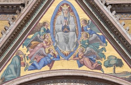 Cathedral of Orvieto  Umbria  Italy  photo