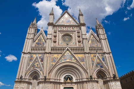 Cathedral of Orvieto  Umbria  Italy  photo