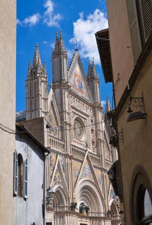 Alleyway  Orvieto  Umbria  Italy  photo