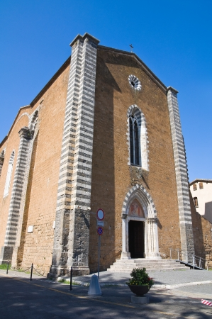Church of St  Domenico  Orvieto  Umbria  Italy  photo