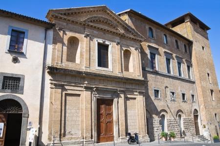 Church of St  Lodovico  Orvieto  Umbria  Italy  photo