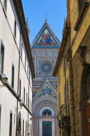 Alleyway  Orvieto  Umbria  Italy  photo