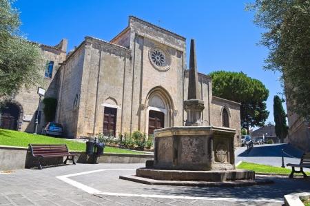 Church of St. Francesco. Tarquinia. Lazio. Italy. photo