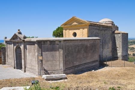 etrurian: Church of St. Giacomo. Tarquinia. Lazio. Italy.
