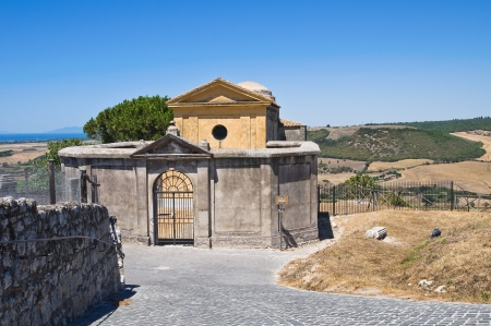 Church of St. Giacomo. Tarquinia. Lazio. Italy. photo