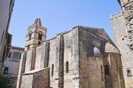 etrurian: Church of St. Pancrazio. Tarquinia. Lazio. Italy.