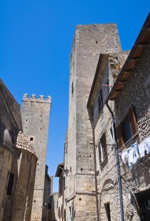 Alleyway. Tarquinia. Lazio. Italy. photo