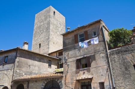 lazio: Alleyway. Tarquinia. Lazio. Italy.