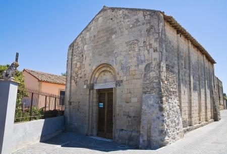 Church di St. Salvatore. Tarquinia. Lazio. Italy. photo