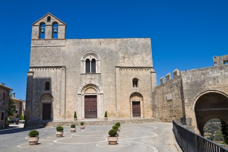etrurian: St. Maria in Castello Church. Tarquinia. Lazio. Italy. Stock Photo