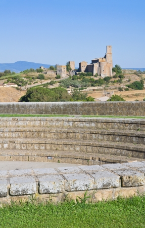 tuscania: Panoramic view of Tuscania. Lazio. Italy.