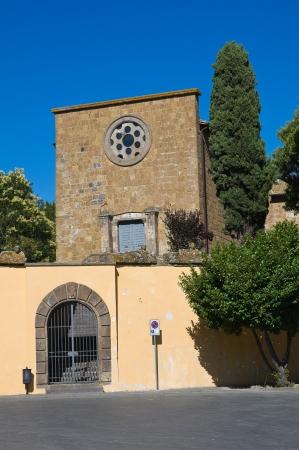 tuscania: Church of St. Croce. Tuscania. Lazio. Italy.