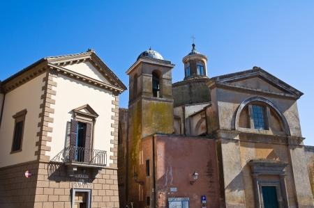 tuscania: Church of SS. Martiri. Tuscania. Lazio. Italy.