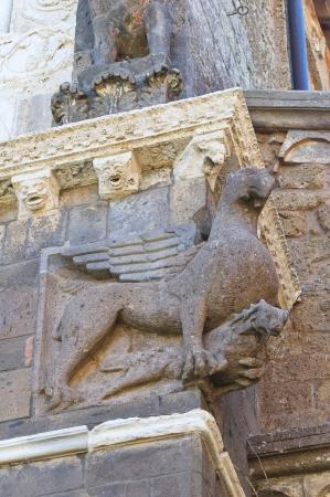 tuscania: St. Pietro Basilica. Tuscania. Lazio. Italy. Stock Photo