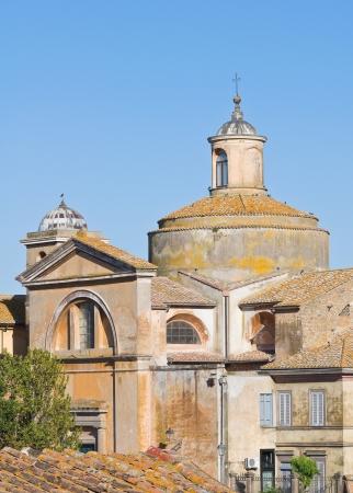 Church of SS  Martiri  Tuscania  Lazio  Italy  Stock Photo - 15192047
