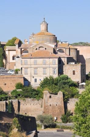 tuscania: Panoramic view of Tuscania  Lazio  Italy