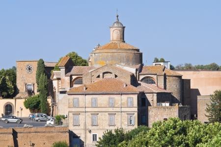 etrurian: Panoramic view of Tuscania  Lazio  Italy